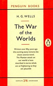 H G WELLS The War of the Worlds, 1954