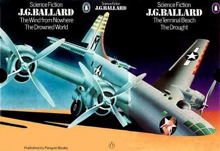 slip-case for a J G Ballard boxed set, 1974