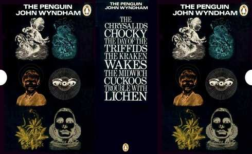 slip-case for 'The Penguin John Wyndham' boxed set, 1970