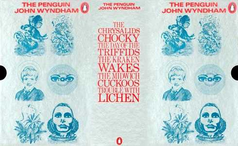slip-case for 'The Penguin John Wyndham' boxed set, 1973