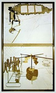 MARCEL DUCHAMP The Bride Stripped Bare by Her Bachelors, Even, 1915-23