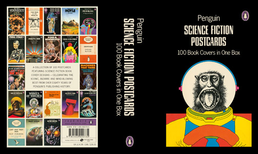 Penguin Book Cover Dimensions : The art of penguin science fiction not quite nowhere