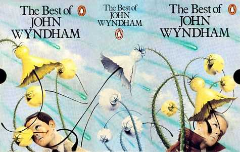 slip-case for 'The Best of John Wyndham' boxed set, 1979